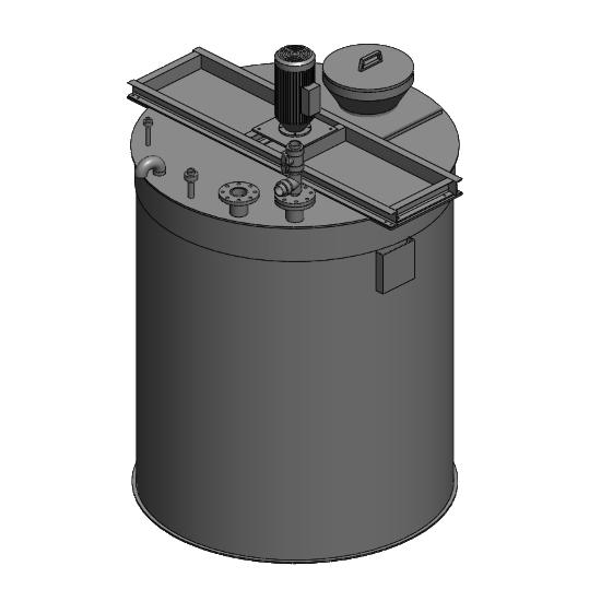 Depósitos de armazenamento e mistura