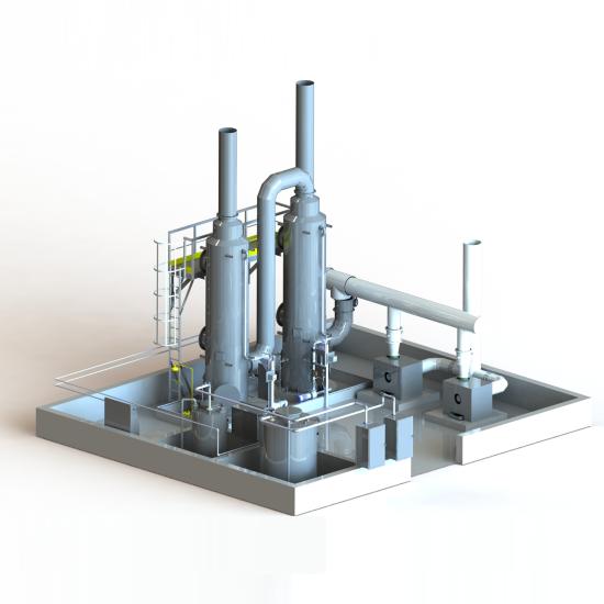 Sistemas de Desodorização – Oxidação Química
